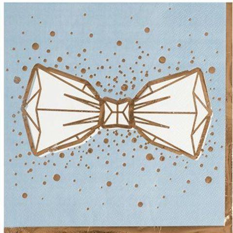 Салфетки Свадьба Luxe Grey, 6шт