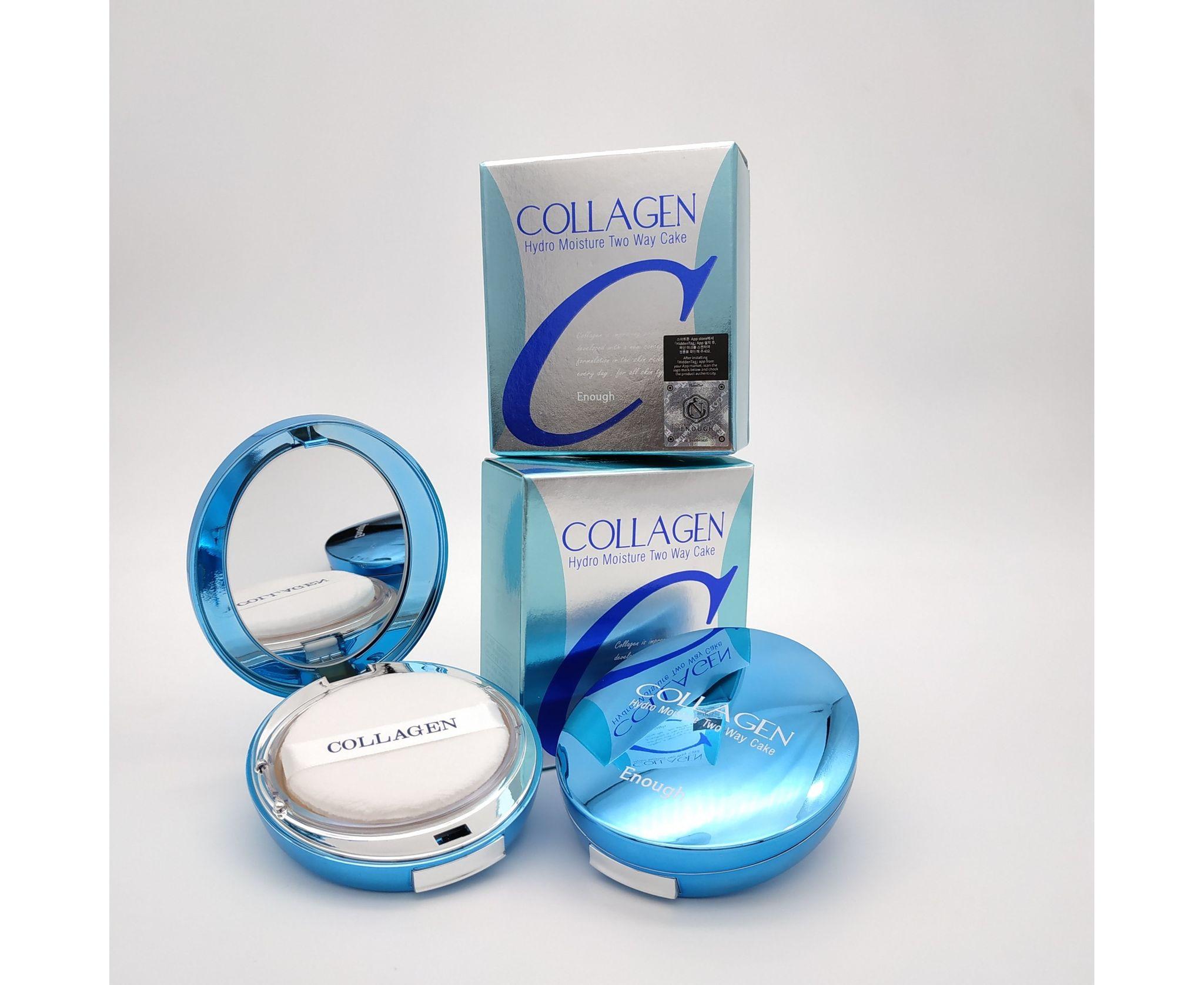 Enough Collagen Hydro Moisture Two Way Cake SPF25
