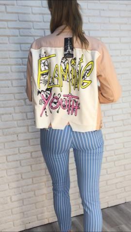 розовая джинсовая куртка магазин