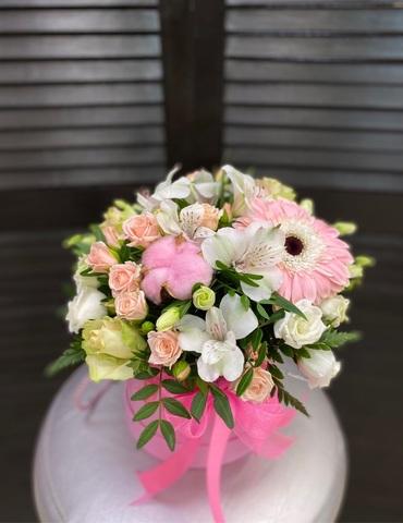 Цветы в шляпной коробке #1930