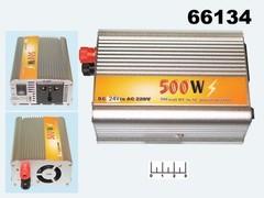 Инвертор 24-220В 500W