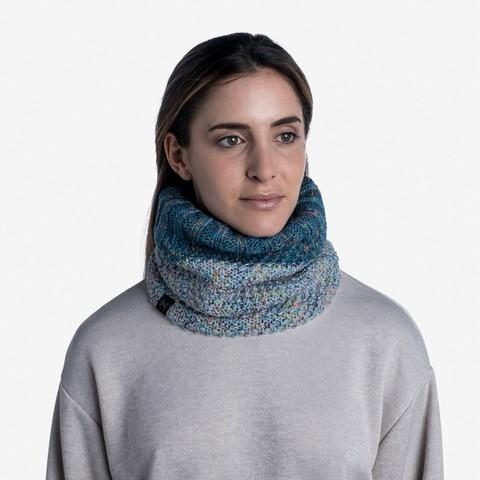 Вязаный шарф-труба с флисом Buff Neckwarmer Knitted Polar Janna Air фото 2