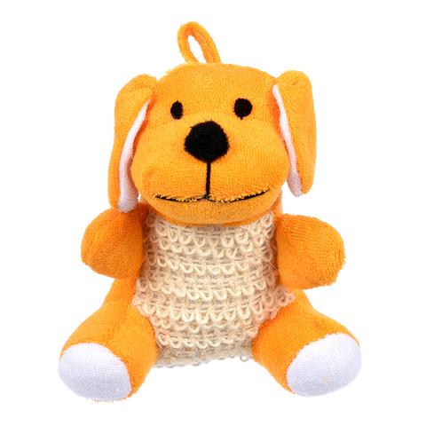 Мочалка из сизаля с хлопком, в виде игрушки