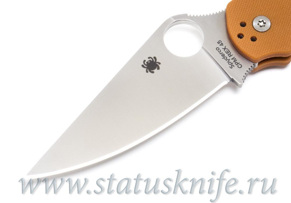 Нож Spyderco Paramilitary 2 C81GPBORE2 - фотография