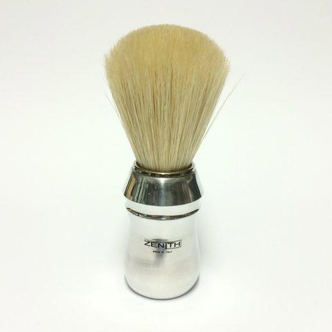 Помазок для бритья Zenith B03-A26 Алюминиевая ручка,натуральный кабан