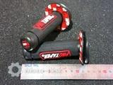 Грипсы Protaper Honda Yamaha Kawasaki Suzuki Красно-чёрные