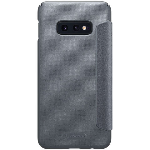 Чехол-книжка Nillkin Sparkle для Samsung Galaxy S10e (Черный)