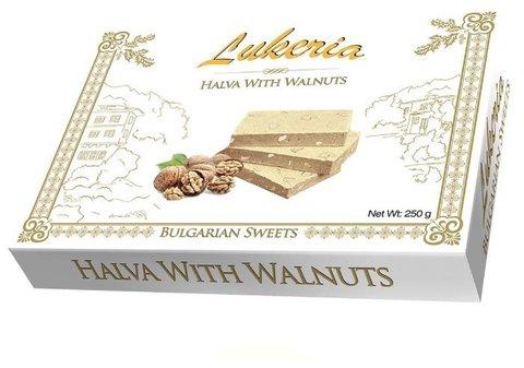 Халва с грецким орехом, 250 гр.