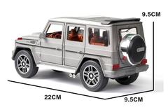 Металлическая Машина MERCEDES-BENZ G-CLASS серый