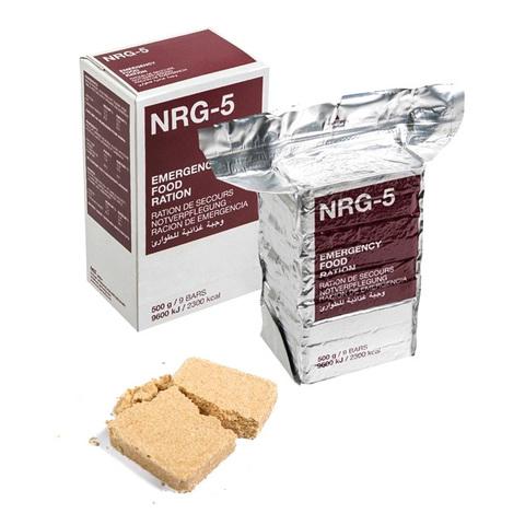 Аварийный рацион питания NRG-5, Германия