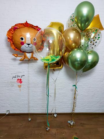 Воздушные шарики на годик Москва