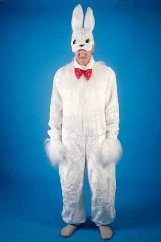 Карнавальный костюм Заяц белый 2