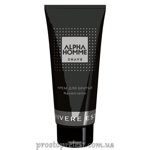 Estel Alpha Homme Rasiercreme - Крем для бритья