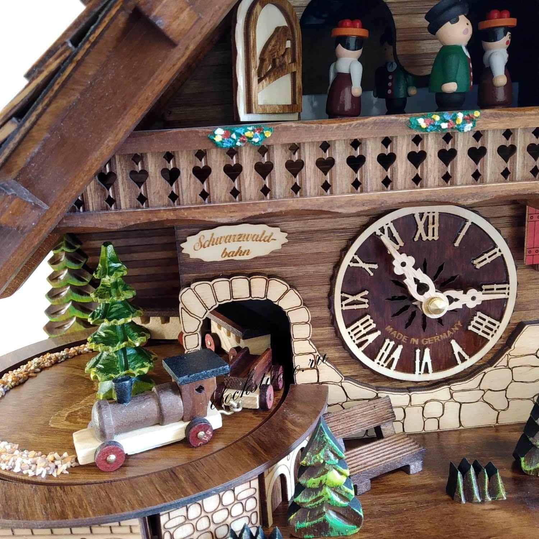 Часы с кукушкой Engstler 45110 QMT