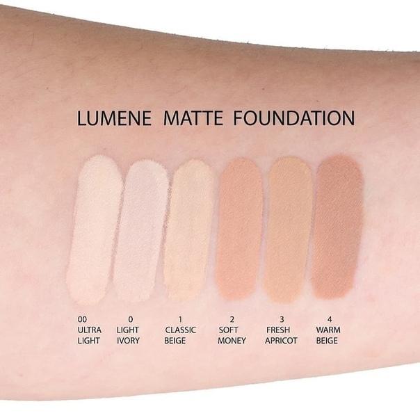 Тональный крем для лица Lumene Matte 00 Ultra Light 30 мл