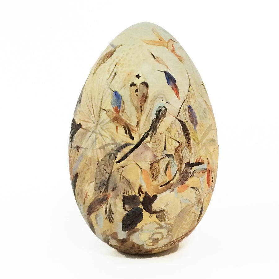 Яйцо-шкатулка пасхальное Трели