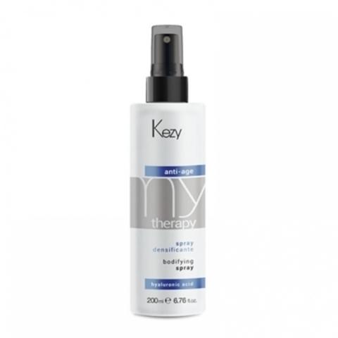 Спрей для придания густоты истонченным волосам c гиалуроновой кислотой 200 мл - KEZY