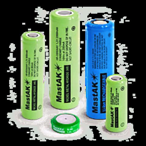 Аккумулятор промышленный MastAK R 06/2bl 1800mAh Ni-MH (14.3*48.5)