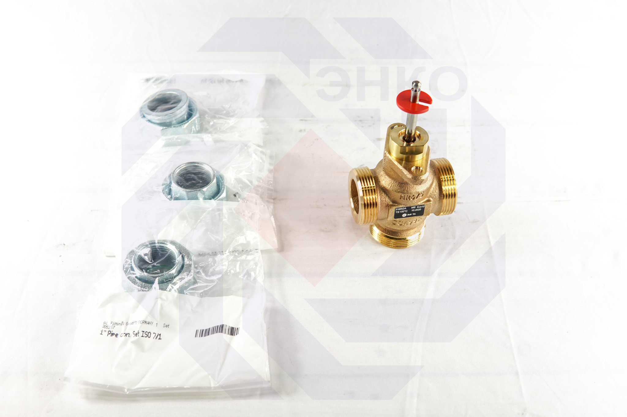 Клапан регулирующий трехходовой IMI CV316 RGA DN 20