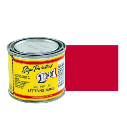 Эмали для пинстрайпинга Эмаль для пинстрайпинга 1 Shot Ярко-красный (Bright Red), 236 мл BrightRed.jpg