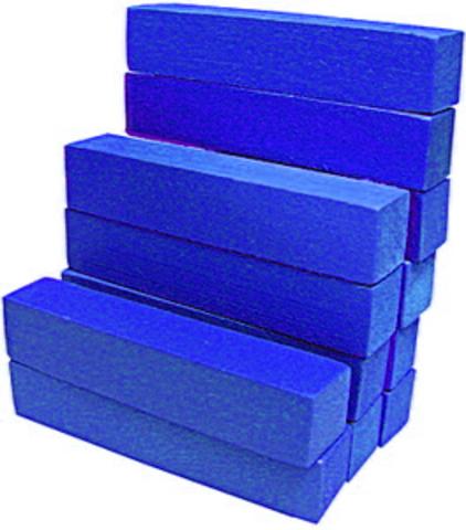 Счетные палочки 12 шт синие