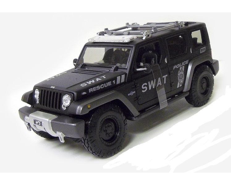 Коллекционная модель Jeep Police SWAT Rescue Concept 2015