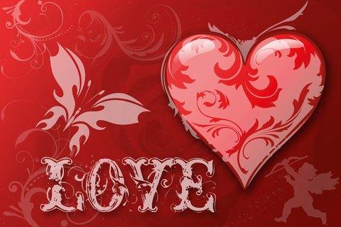 Печать на сахарной бумаге, День Влюбленных 37