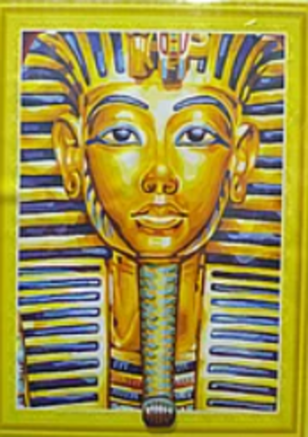 Алмазная Мозаика 5D 40x50 Маска Тутанхамона (арт.LT0046)