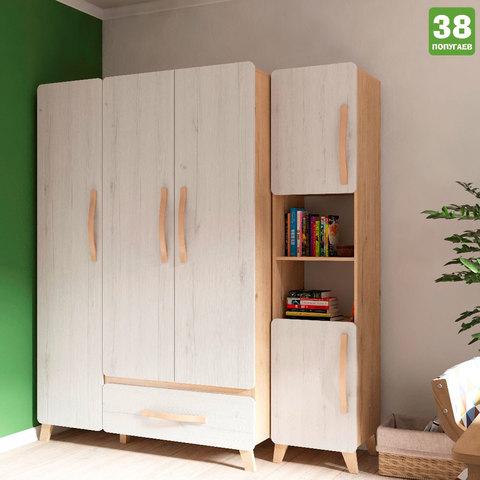 Шкаф 3-х створчатый Риган 38 попугаев