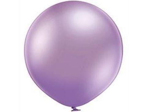Большой шар Хром Сиреневый