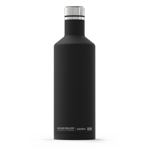 Термобутылка Asobu Times square (0,45 литра), черная