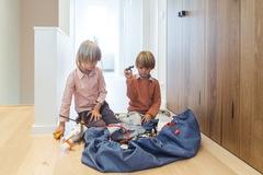 Коврик-мешок для игрушек (2 в 1) Play&Go Classic ДЖИНСЫ 79971 - 1