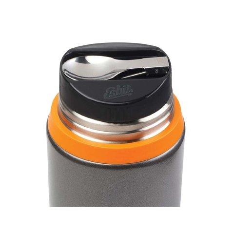 Термос для еды Esbit FJSP (0,75 литра) с ложкой, серый