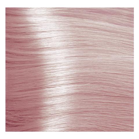 Крем краска для волос с гиалуроновой кислотой Kapous, 100 мл - HY 10.081  Платиновый блондин пастельный ледяной