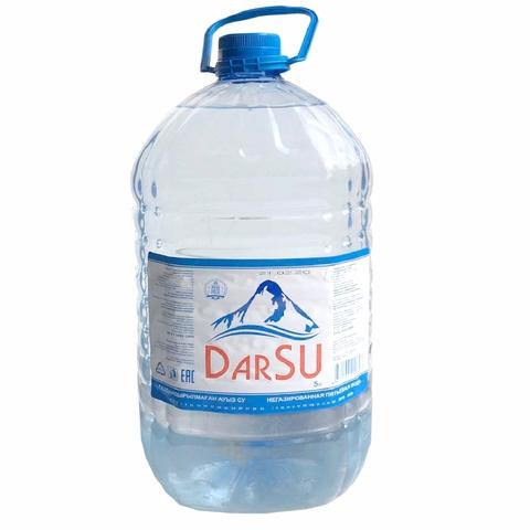 Вода питьевая DARSU б/газ 5 л пл/б Жана Роса КАЗАХСТАН