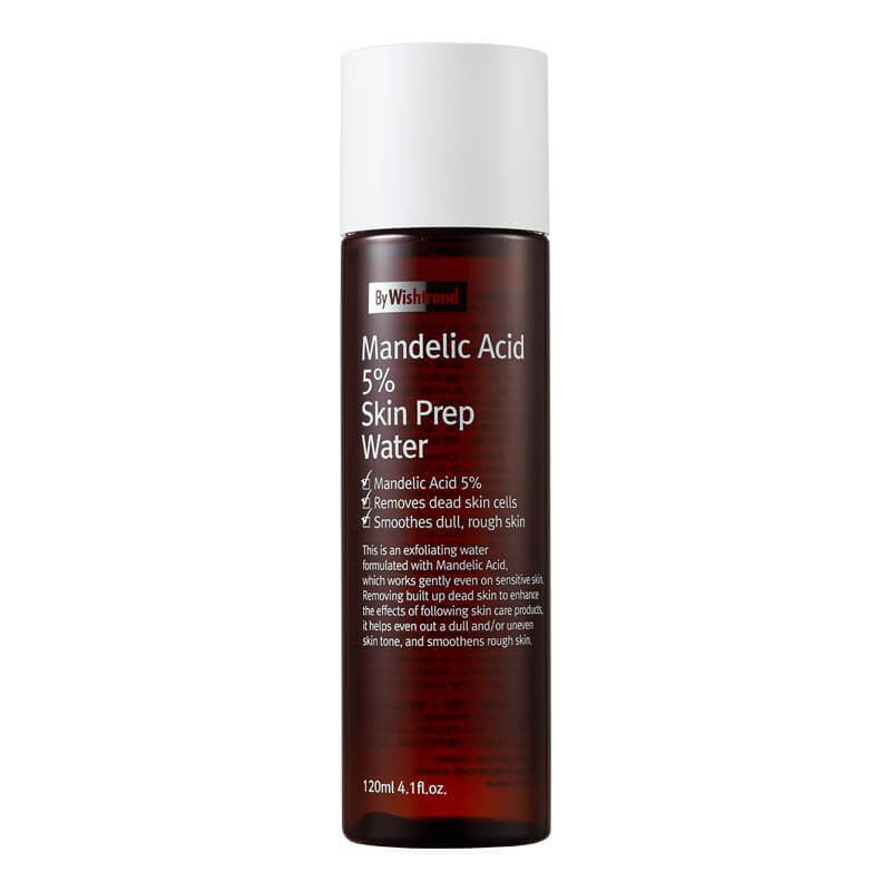 BY WISHTREND Mandelic Acid 5% Skin Prep Water Тонер с миндальной кислотой 120 ml