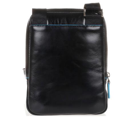 Сумка Piquadro Blue Square, черная, 16x22x4,5 см