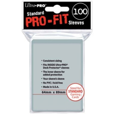 UP Sleeves: PRO-Fit Standard Size Deck