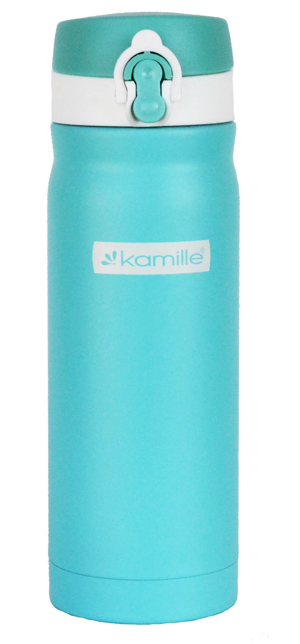 Термос-кружка Kamille 500 мл. бирюзовый