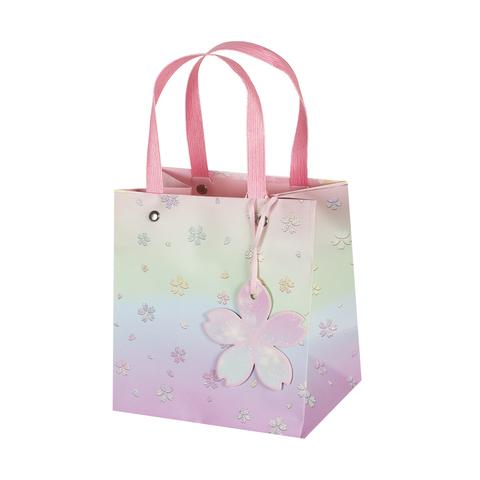 Пакет подарочный Pink 15*16*11 4