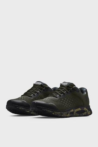 Мужские зеленые кроссовки UA HOVR Infinite 3 Camo-GRN Under Armour