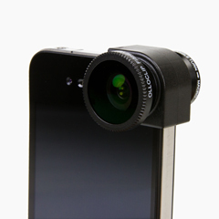 3-in-1 для iPhone, FishEye (фишай), макро и широкоугольный