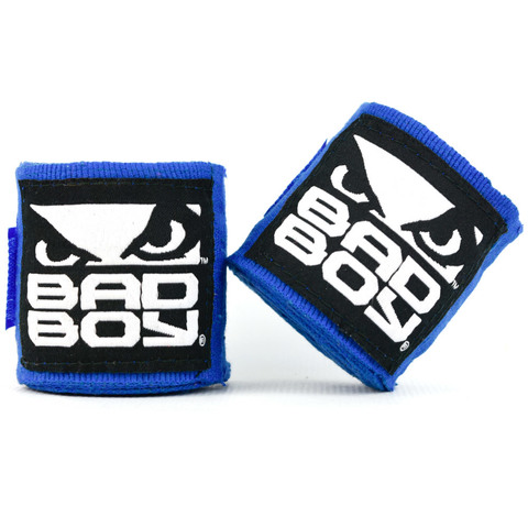 Бинты Bad Boy Combat Hand Wraps 3.5 м Blue