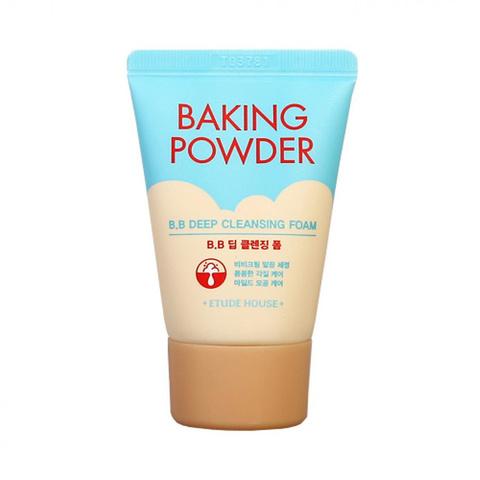 Etude House Пенка для умывания с содой для глубокого очищения Baking Powder BB Deep Cleansing Foam, 30 мл