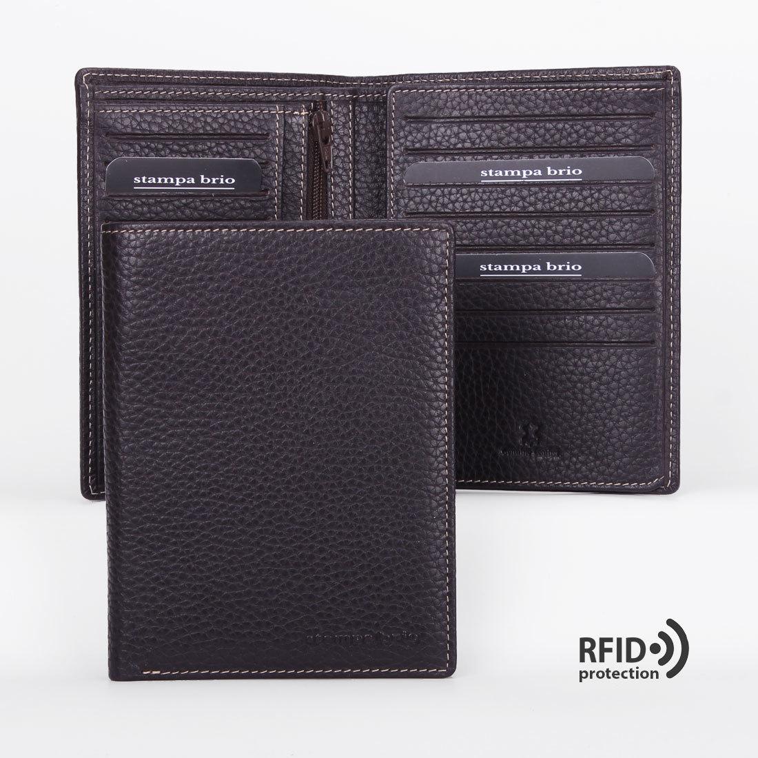 608 R - Портмоне вертикальное 5в1 с RFID защитой