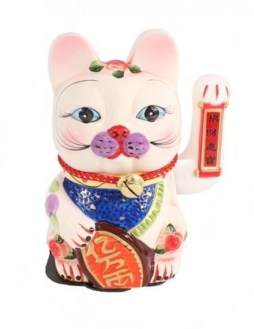 Кошка Неко Манеко Керамика 32 см