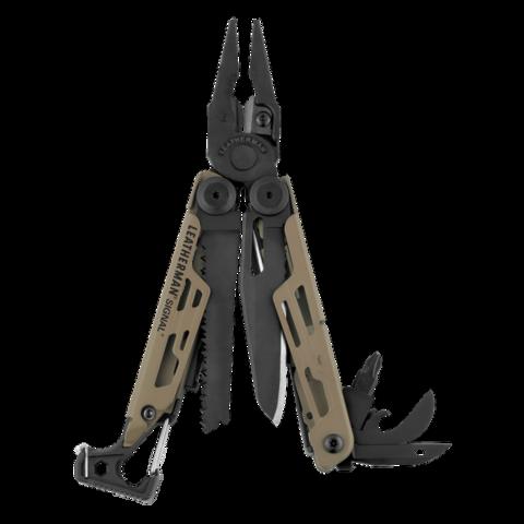 Мультитул Leatherman Signal Coyote, 19 функций