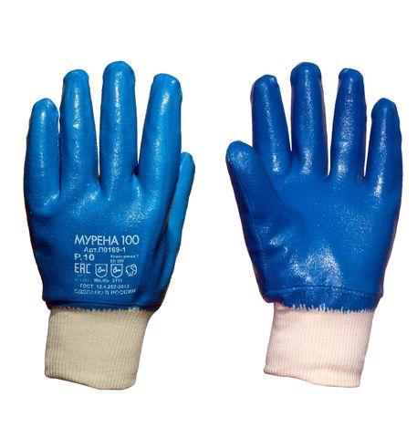 Перчатки нитриловые МУРЕНА-100