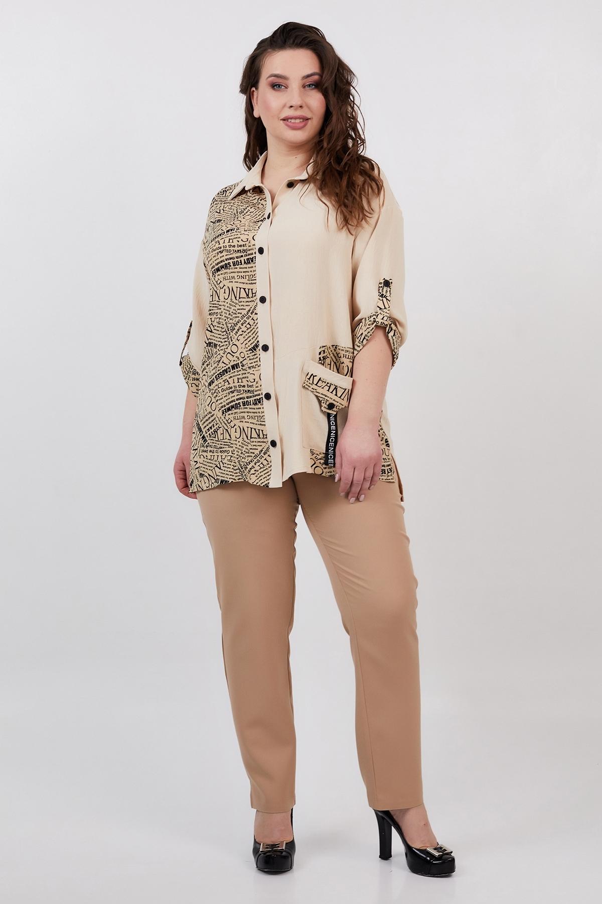 Рубашка Тітонія (бежевий)