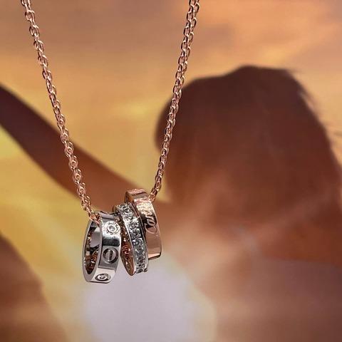 Кулон с цепью Cartier Premium Luxury